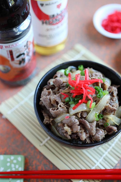 Gyudon (Japanese Beef Bowl)>>If you have tried Yoshinoya, you will ...