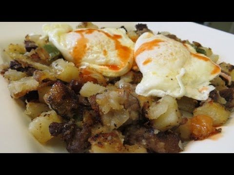 Sirloin Steak Hash and Eggs | YUMMMMMMY Recipes to Cook | Pinterest