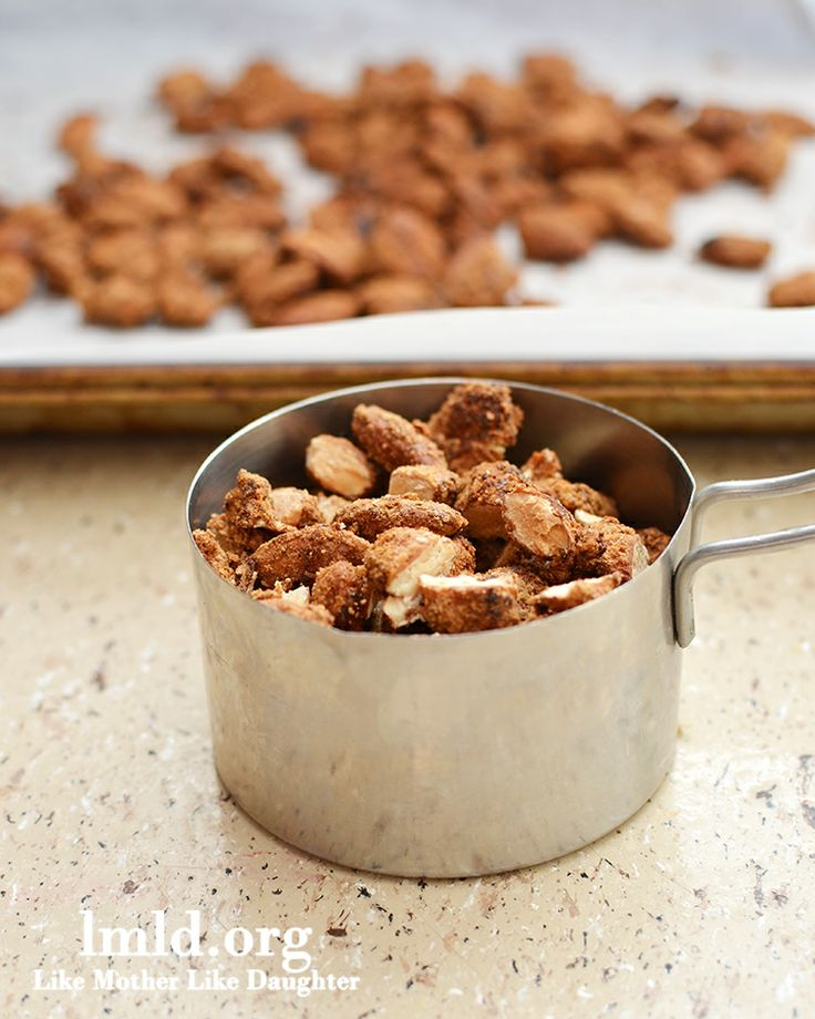 Candied Almonds #lmldfood