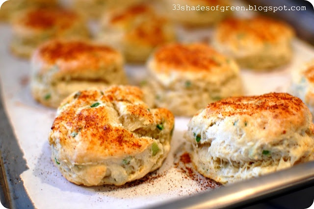 Feta Chive Sour Cream Muffins - (try w/ egg & butter substitutes with ...