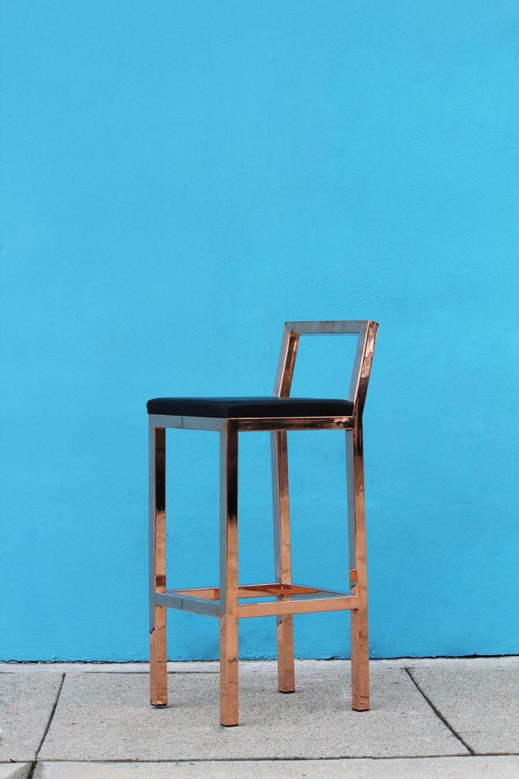 Rose Gold Bar Stools Furniture Pinterest