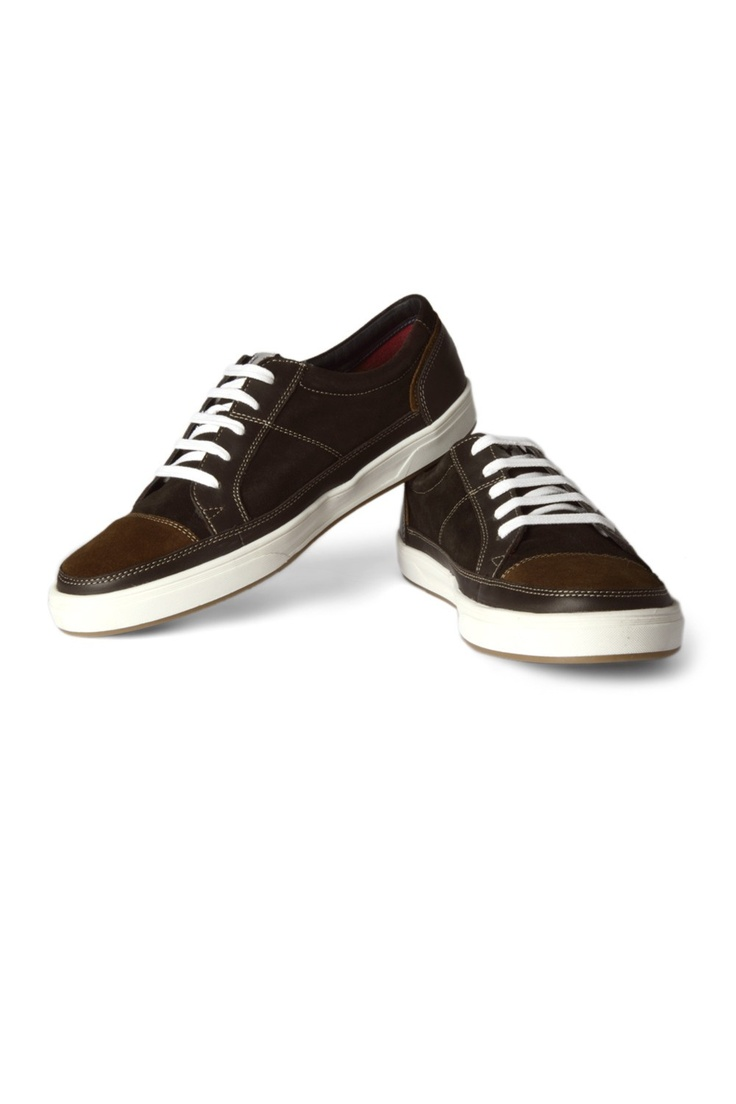 Buy Men Shoes - Allen Solly Suede And Leather Streetwear Shoes