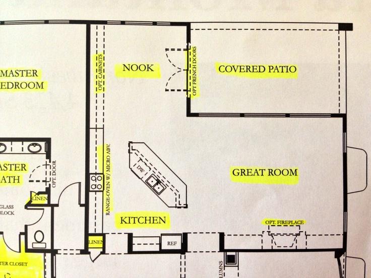 Floor Plan 2014 Great Room Kitchen Design Kitchen