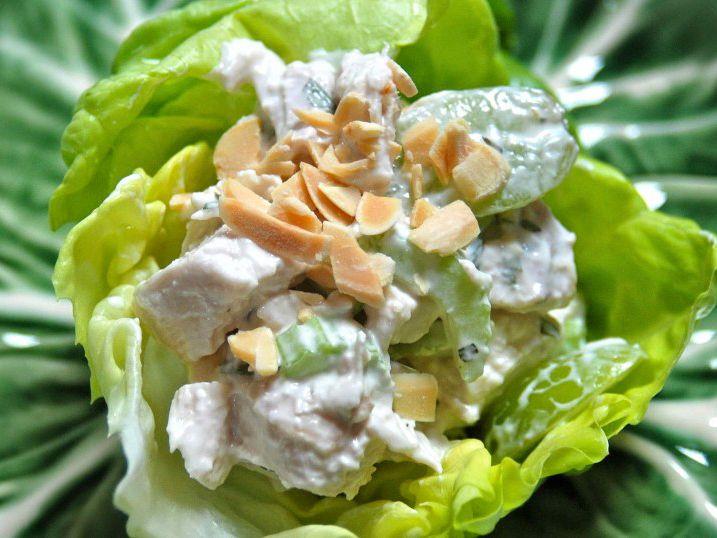 Tarragon Chicken Salad Lettuce Cups | Tasty Kitchen: A Happy Recipe ...