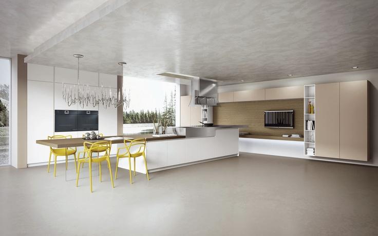 Cuisine design archiexpo for Cuisine 7m2 ouverte