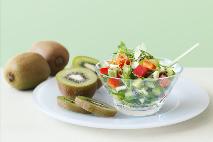 Kiwi fruit salsa | Food | Dips, Entrees & Starters | Pinterest