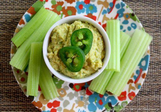 Raw Vegan Jalapeno and Lime Hummus. Lots of info & RECIPE: http ...