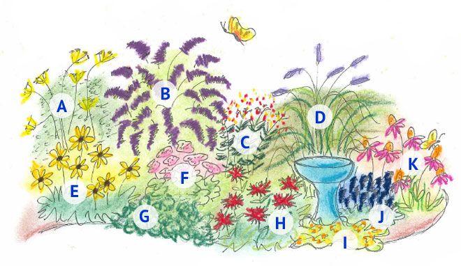 Butterfly Garden Recipe Gardening Pinterest