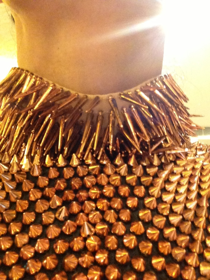 Spiked neck corset   Accesories
