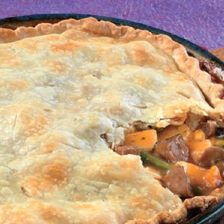 Easy Beef Pot Pie | Food/Drink | Pinterest