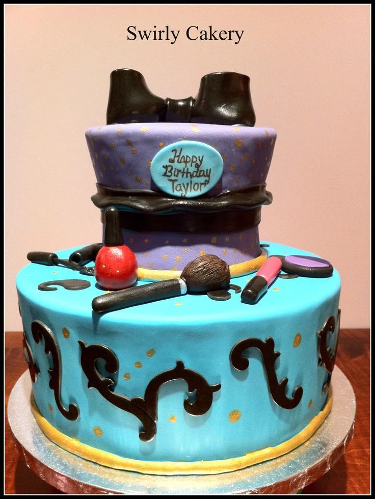 Birthday Cake Images Maker : Make Up Birthday Cake Swirly Cakery Cakes n Things ...