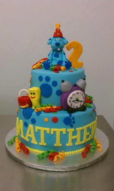 Blues Clues Birthday theme cake by Little Sugar Bake Shop, via Flickr