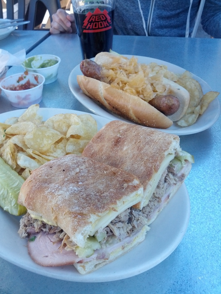 Grilled Cuban and Bratwurst | Sandwiches & Lunch Meals | Pinterest
