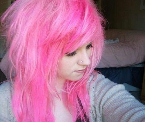 Pink hair   Indie and scene ♡   Pinterest
