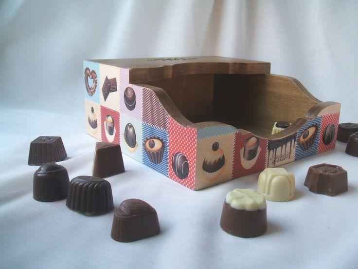 Декупаж шоколад