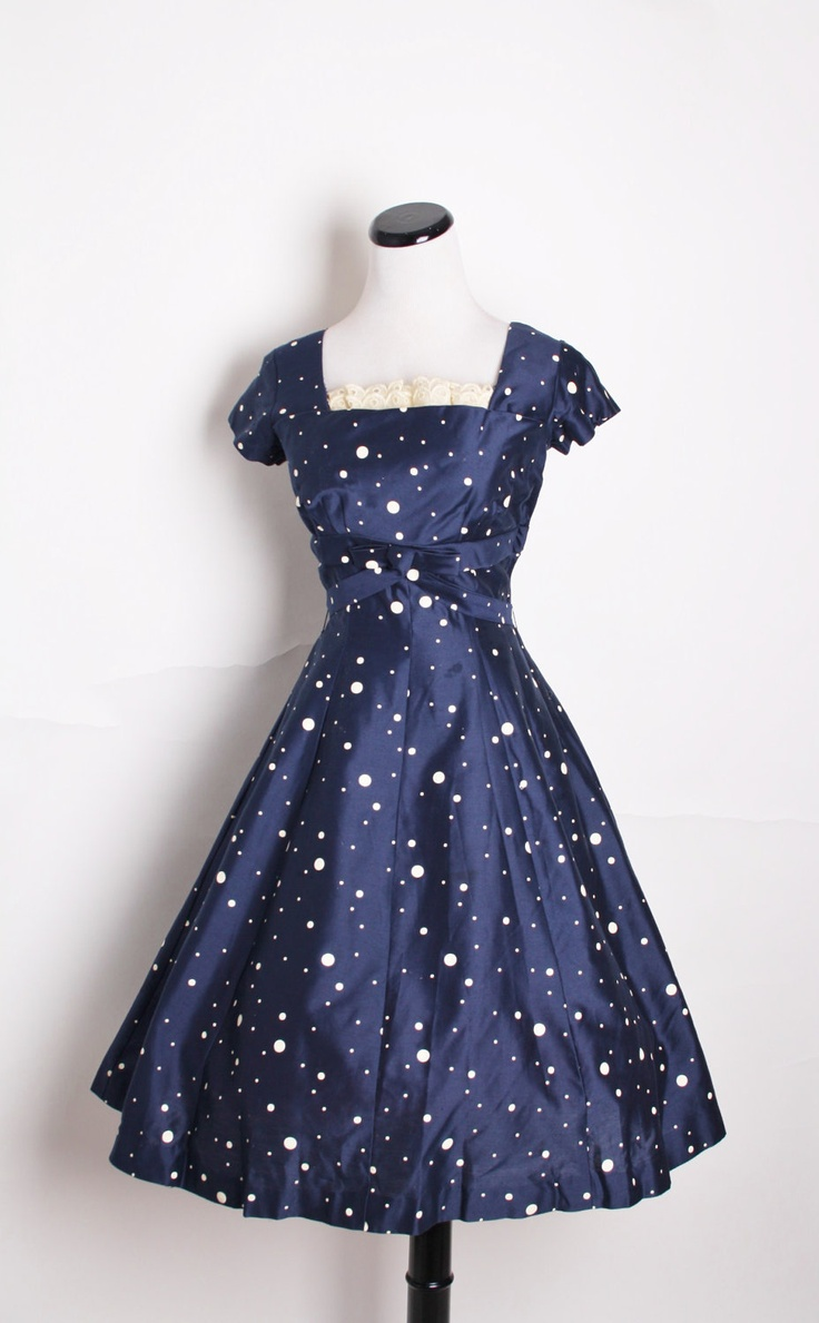 1950s Cocktail Dress - Ocodea.com