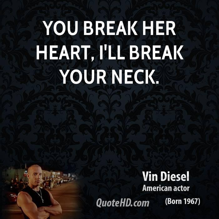 Vin Diesel Movie Quotes. QuotesGram