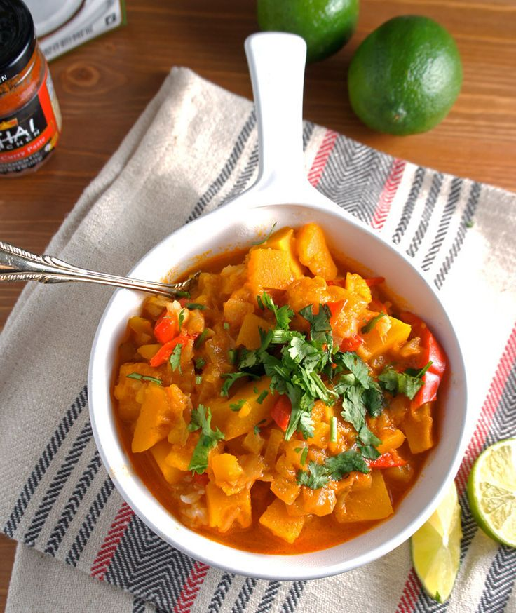Kabocha Squash in Thai Curry Author: Le Fork Recipe type: Dinner ...