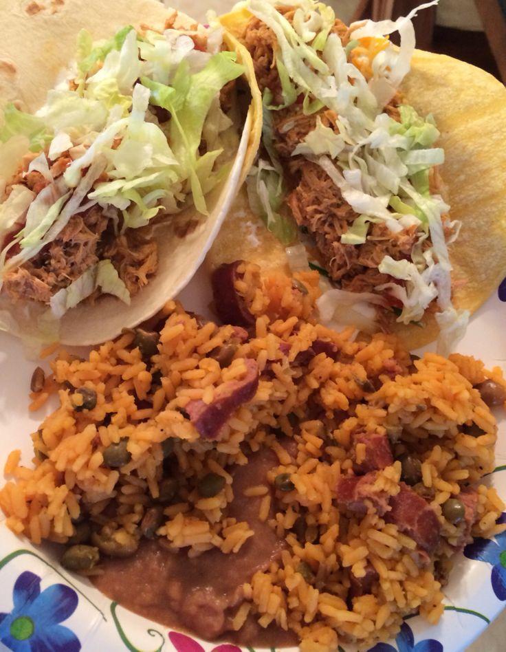Crock Pot shredded chicken tacos! | Crock Pot Ideas | Pinterest
