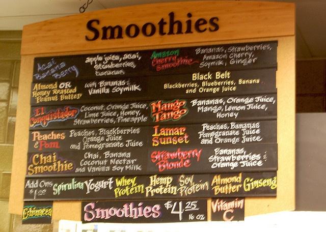 Whole foods juice bar juice bar pinterest for Whole food juice bar menu