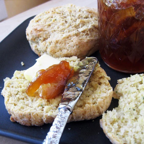 Buttery lemon thyme biscuits | Breads | Pinterest