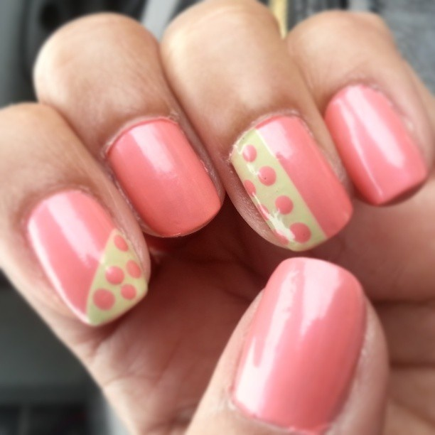 rc_nails' nails! Show us your geometric tips—tag your photos with # ...