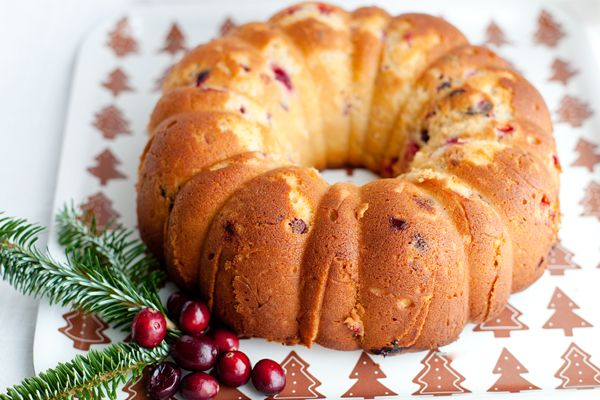 Christmas Cranberry Pudding Cake | Dessert | Pinterest