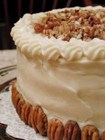 Pumpkin Spice Layer Cake, with Brown Butter Cream Cheese Frosting and ...