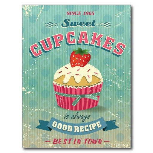 Sweet Strawberry Cupcake.   ♥ Cupcake Stuff   Pinterest