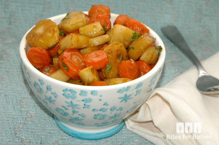 Maple-Roasted Carrots and Parsnips | Meatless Mondays | Pinterest