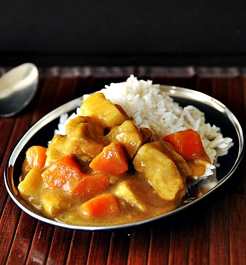 japanese chicken & vegetable curry | curry madness :) | Pinterest