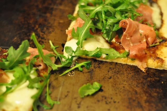 Fig-Prosciutto Pizza With Arugula Recipes — Dishmaps