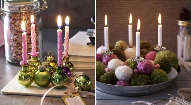 Beautiful advent candle decoration christmas decor ideas for Pinterest advent
