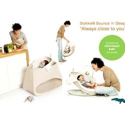 stokke bounce n sleep daybedbouncer combi bed mattress sale. Black Bedroom Furniture Sets. Home Design Ideas