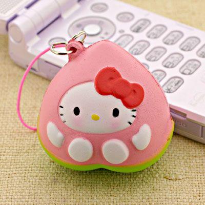 Rare Squishy Wishlist : Hello kitty peach Squishy wish list Pinterest