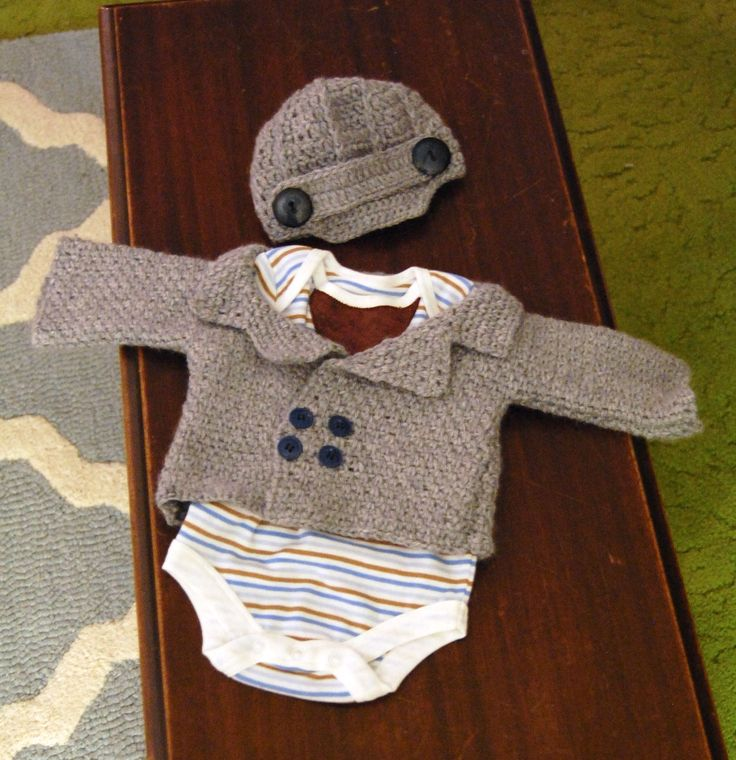 Free Crochet Patterns For Baby Boy Pants : Baby Boy Crochet Layette crochet 2 Pinterest
