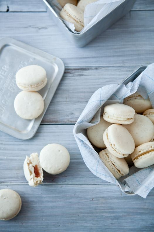 Mascarpone Macarons | Yummy Creations For Open Houses | Pinterest