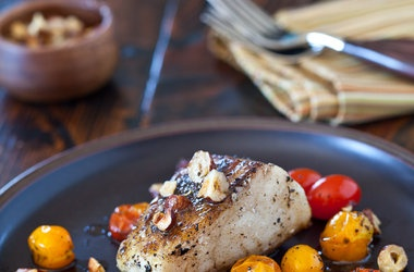 Cod Fish with Hazelnut Browned Butter Recipes