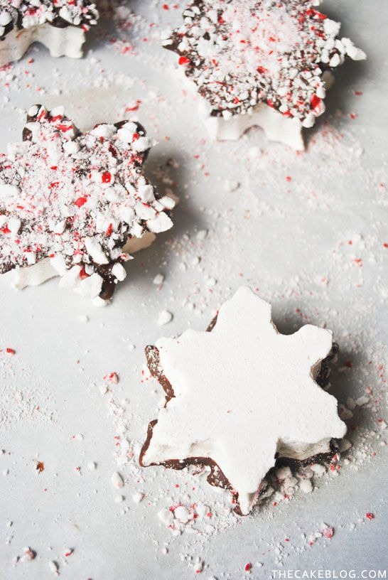 Marshmallow Snowflakes - The Cake Blog