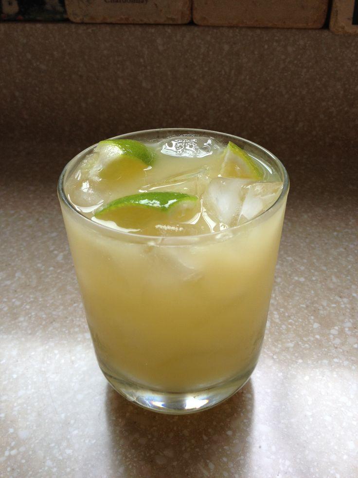oz TY KU Coconut Sake 1 c Hand Melon Cubes 1/2 lime cut up Splash ...