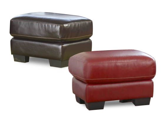 pavia leather ottoman living room pinterest