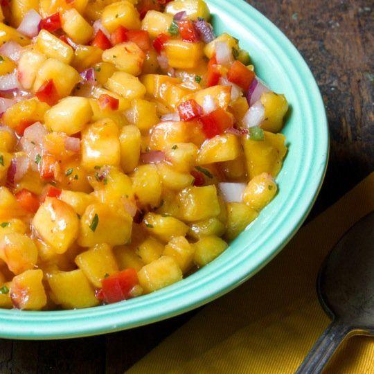 Summer Peach Salsa | Recipe