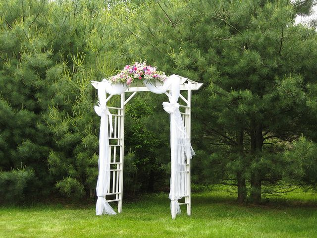 Wedding arbor decorations cake ideas and designs for Arbor decoration ideas