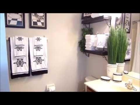 Bathroom decorating ideas on a budget - Pin By Bemyguestwithdenise On Guest Bathroom Ideas Pinterest