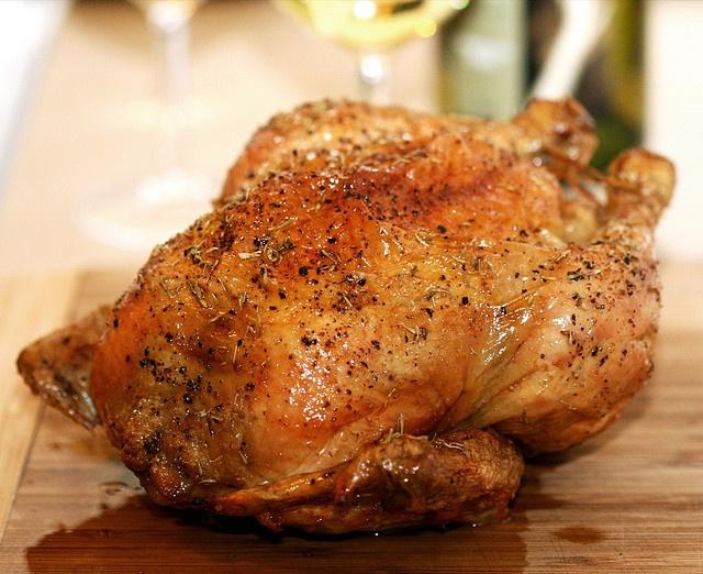 Roast Chicken...simply the best, most succulent, tender chicken ...