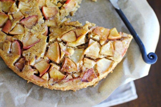 Upside-Down Cinnamon Apple Honey Cake | Yumminess - Baked Goods | Pin ...