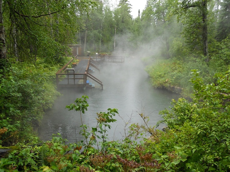Laird Hot Springs, Canada.  A MUST-STOP on the Alcan Highway. I really want to go to these springs!
