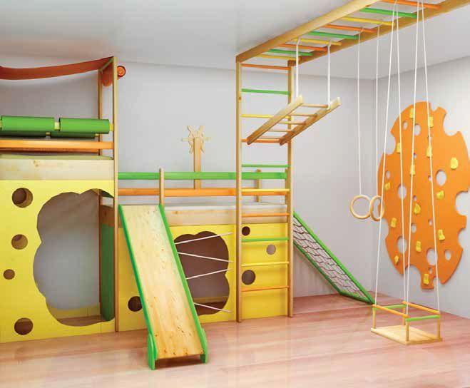 Детский комплекс в квартире своими руками 813
