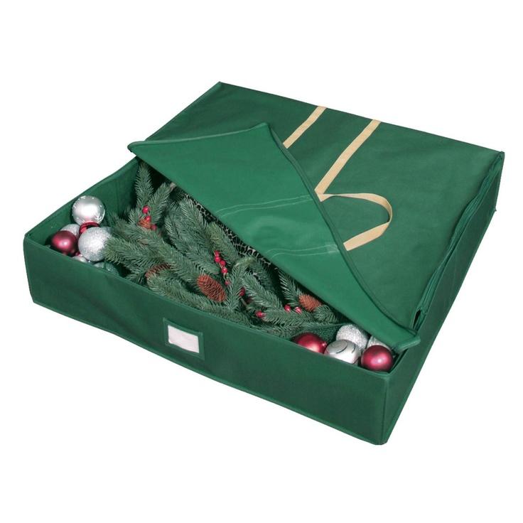Christmas Wreath Storage Boxes