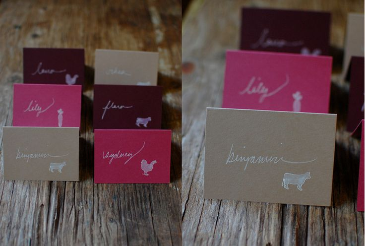 diy wedding place cards wedding favorites pinterest